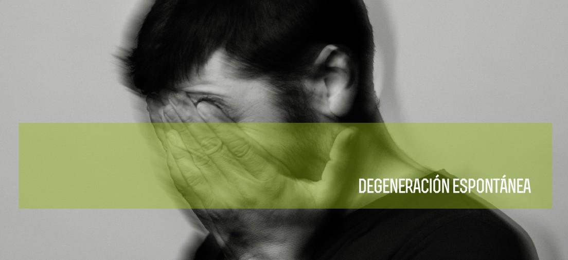 DEGENERACIÓN ESPONTÁNEA (tracklist y portada del nuevo disco)