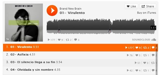 Escucha, descarga, comenta y comparte nuestro nuevo disco, en SoundCloud