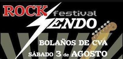 **ACTUALIZADO 22/07/13** Confirmados para el festival ROCK-SENDO, en Bolaños de Cva. (Ciudad Real)