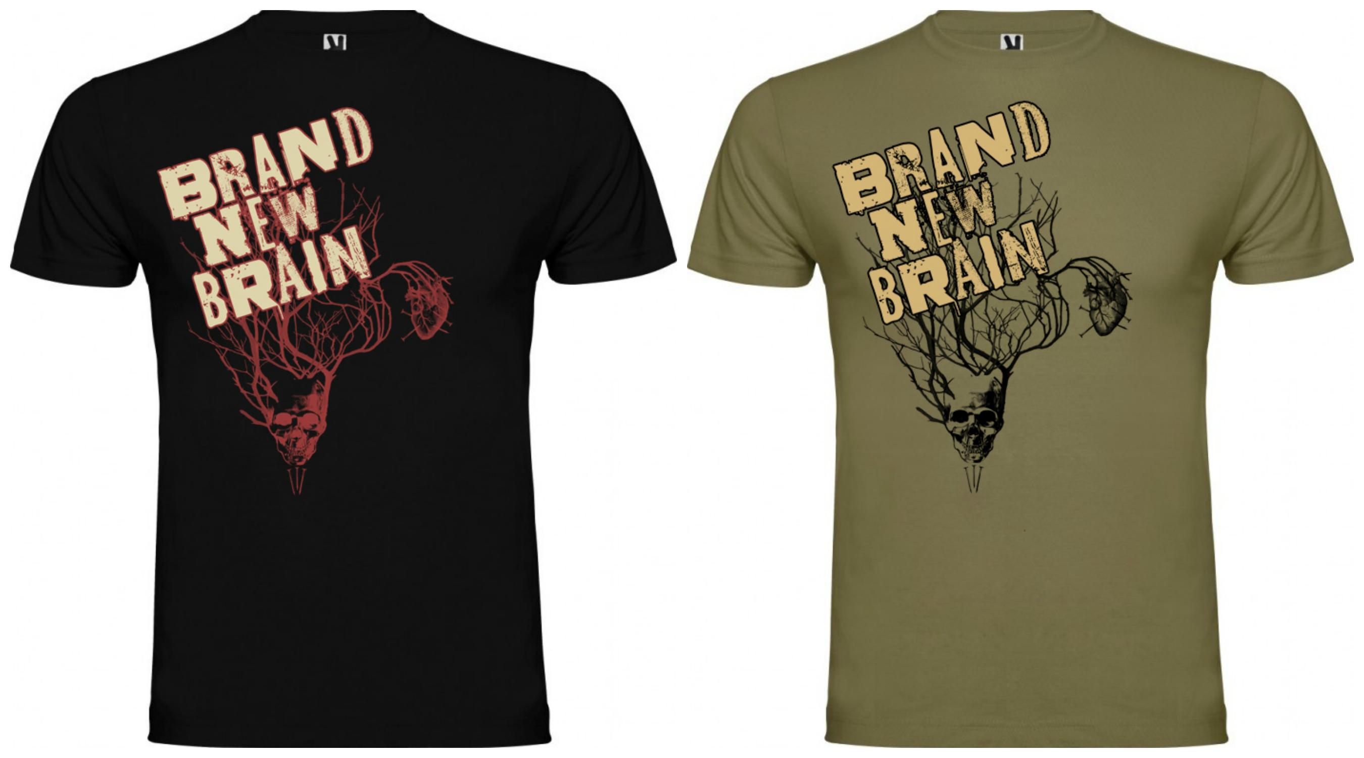 Nuevas camisetas de Brand New Brain