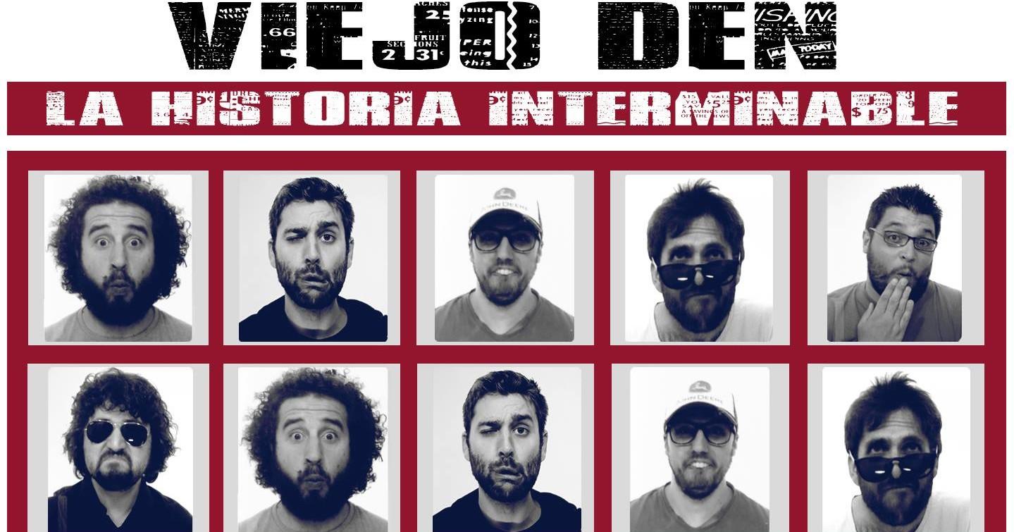 Colaboración en el nuevo disco de Viejo Den