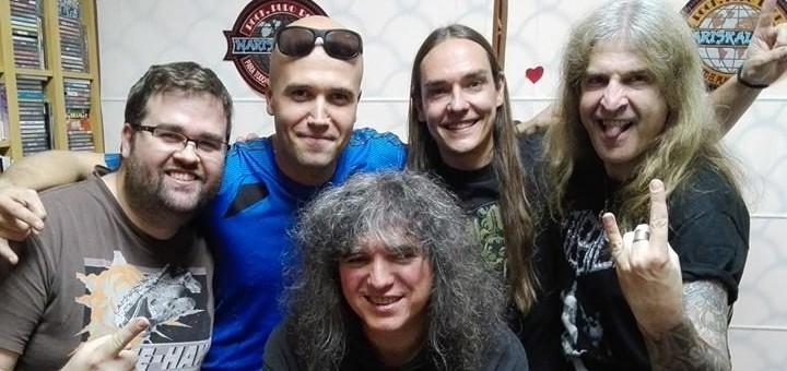 Entrevista para MARISKALROCK, con Óscar Sancho de Lujuria y Mariano Muniesa, para el programa ROCKCINANTE - [*PODCAST]