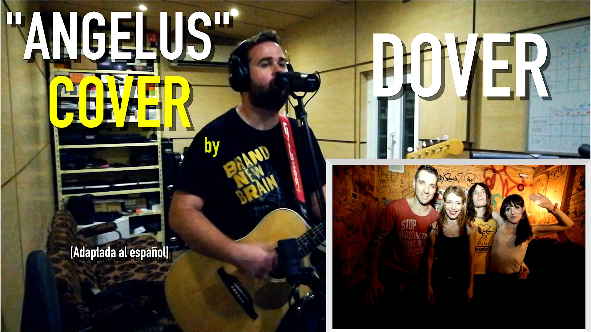 "Vídeo / Dover - ""Angelus"" - COVER"