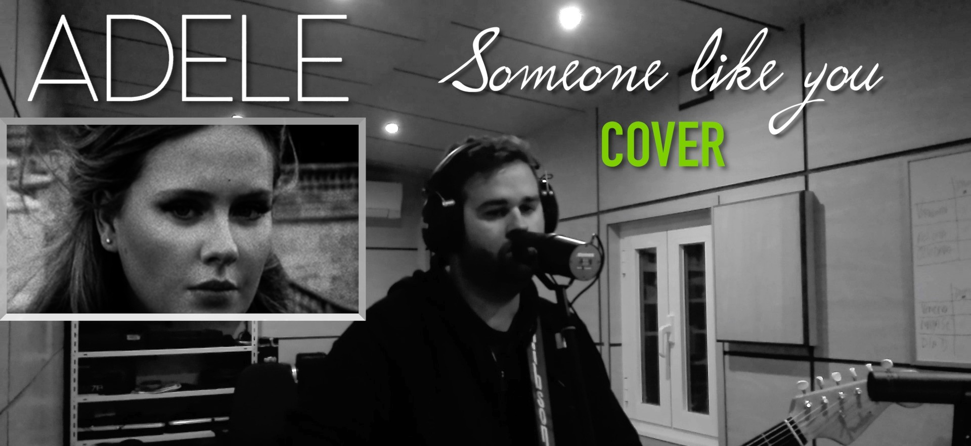 "VÍDEO / ADELE – ""SOMEONE LIKE YOU"" – COVER"