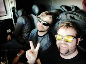 Viaje de BNB a Barcelona con Jorge Salán and The Majestic Jaywalkers