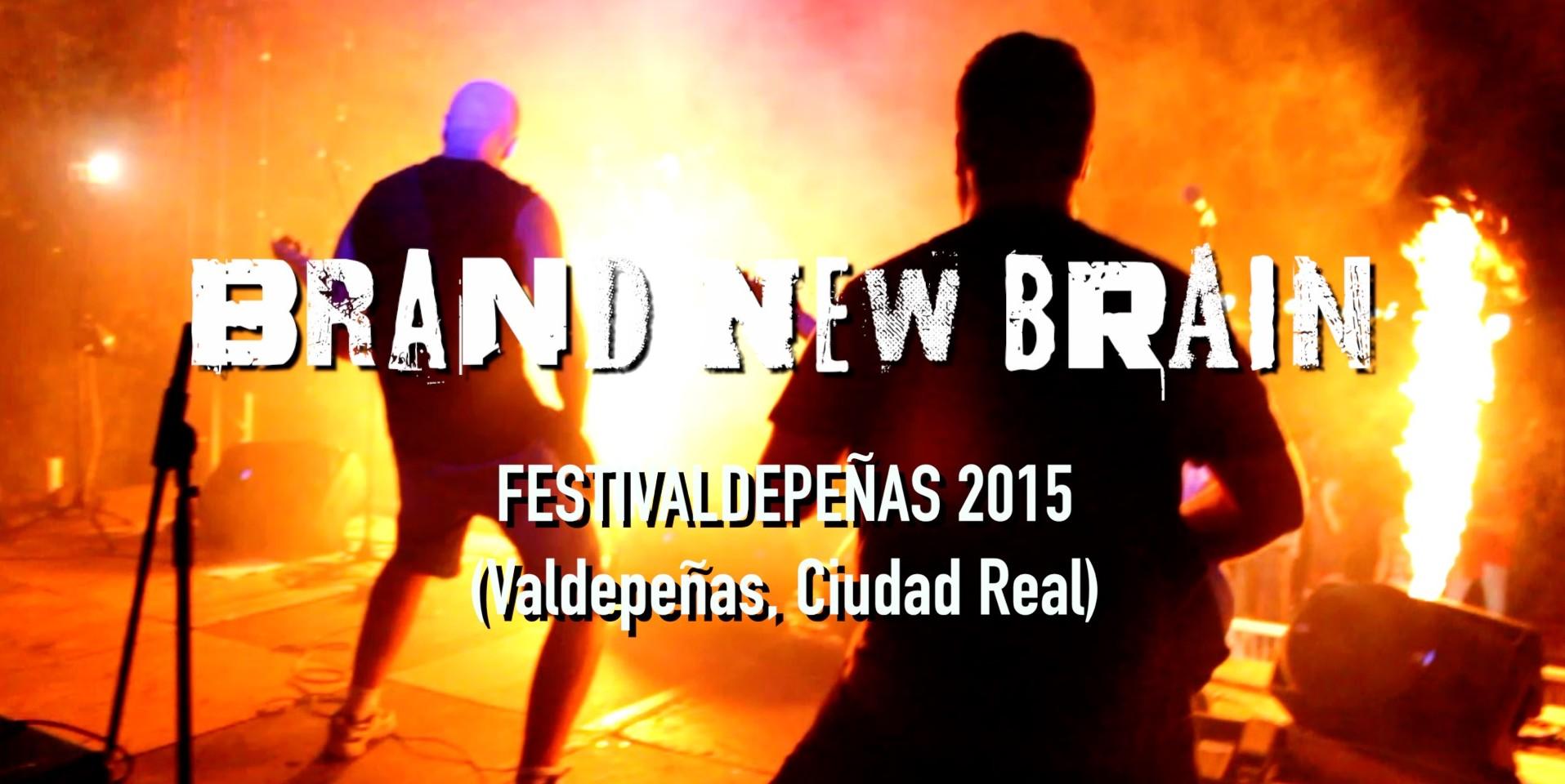 FestiValdepeñas 2015 - Concierto completo, terminado de editar en vídeo, publicado en YouTube